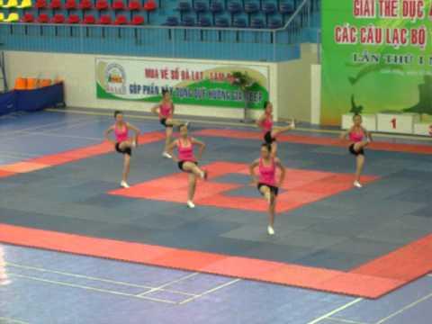 Aerobic - Trường THPT Chu Văn An - Lâm Đồng [Ngày 2/10/2011]
