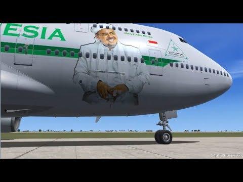 Pesawat Pribadi Habib Rizieq & Jet Tempur Laskar FPI