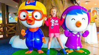 Pororo and Milusik pretend play with kids toys