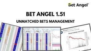 Bet Angel - Version 1.51 - Enhancements to unmatched bets management on the ladder