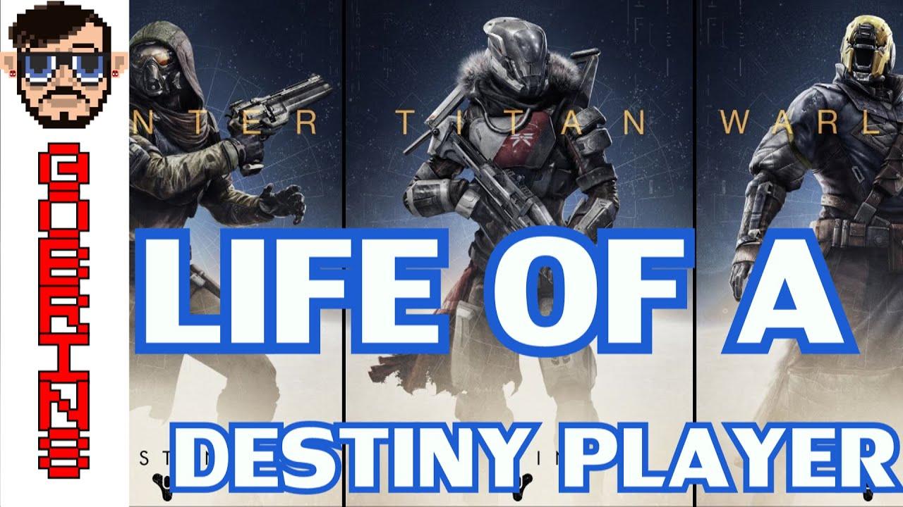 Life of a destiny player destiny weeks vs irl weeks youtube