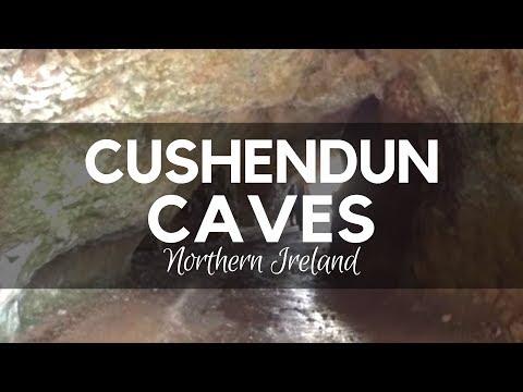 Cushendun Caves- close to Ballymena, County Antrim. National Trust