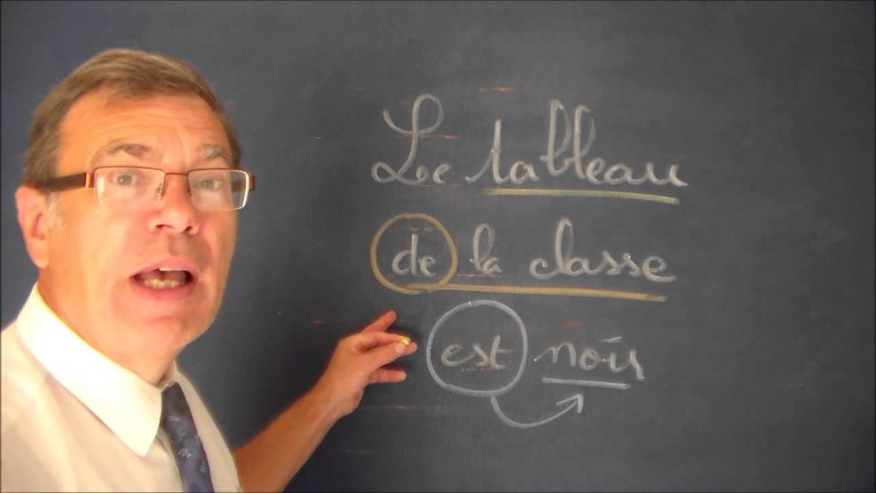 Francais Grammaire Complement Du Nom Facile En Ce2 Cm1 Cm2 Youtube