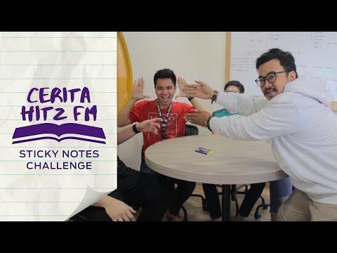 Cerita Hitz FM | Sticky Note Challenge