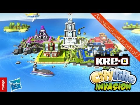 KRE-O CityVille Invasion Android HD Gameplay [Game For Kids]
