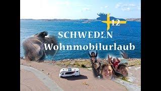 Wohnmobil-Schweden-Rundreise#12: Alles in einem Video! Elche, Schären, Hafen, Camping...