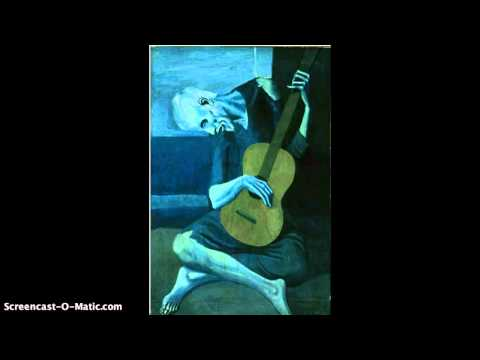 Interpreting Art: The Old Guitarist