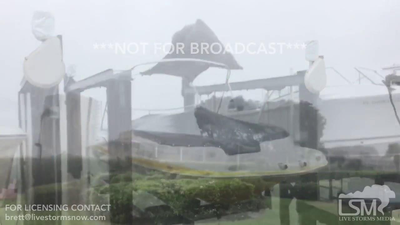 9 9 17 Marco Island Florida Hurricane Irma 11am Youtube