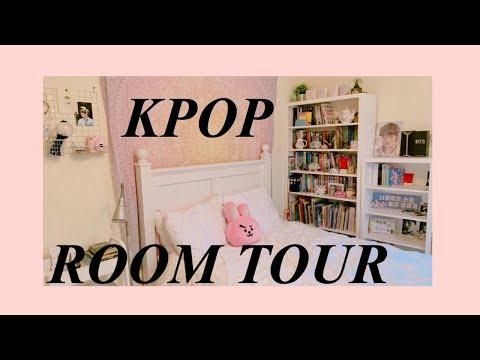 kpop room tour!