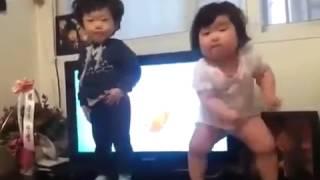 Корейский детский танец