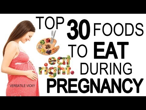 Good healthy foods to eat during pregnancy