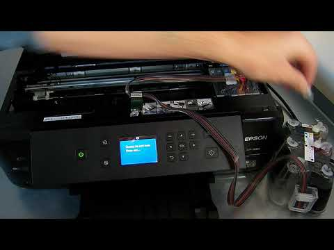 Ciss Continuous Ink System For Epson XP-900 Printer