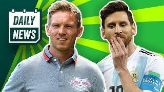 Argentinien zerfällt, Messi am Boden! Nagelsmann übernimmt RB Leipzig! Mbappé mit Rekord! Daily News