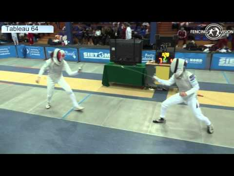 FE F F Individual Gdansk WC 2016 T64 27 yellow GOLUBYTSKYI  GER vs HARVEY  CAN