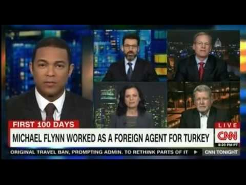Michael Flynn worked as a foreign agent for Turkey before being appointed by President Trump