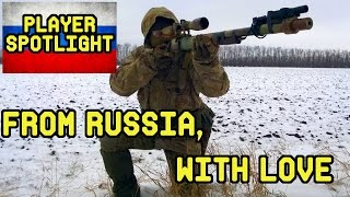 DesertFox Airsoft Player Spotlight: Marty Airsoft From Russia with Love (Russian Airsoft Sniper)