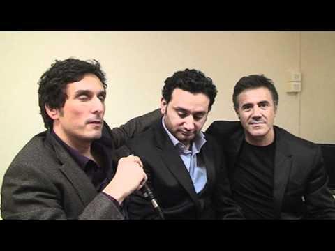 Interview de José Garcia, Vincent Elbaz et Cyril Hanouna - partie 2