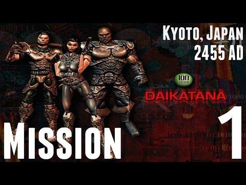 Daikatana - 1080p HD Walkthrough (Japan) Mission 1 - The Marsh