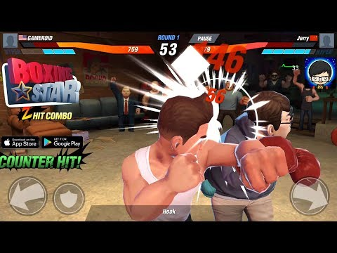 Boxing Star Gameplay Full HD -  Realistic Game -  (Android /IOS) By FourThirtyThree Inc.