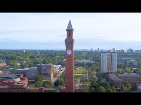 University of Birmingham campus tour