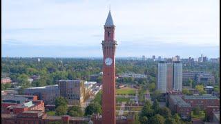 University of Birmingham campus tour