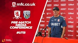 West Bromwich Albion Media Conference