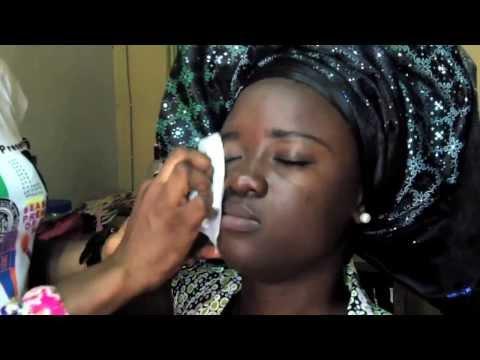 Nigeria Fashion: how-to Bridal Make-Up