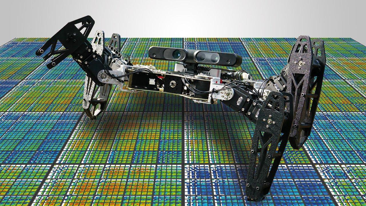Jean-Baptiste Mouret :: Robots that can adapt like natural