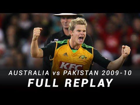 LIVE Flashback: Australia V Pakistan | T20I 2010, MCG