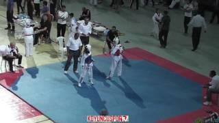 41kg QuarterFinal - Zehra Altun vs Nazlı Şakar (2017 Turkish Cadet Taekwondo Championships)