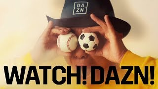 とんねるず・木梨憲武、DAZNアンバサダーに インパクト大のCMに出演 DAZN新CM「WATCH! DAZN!」