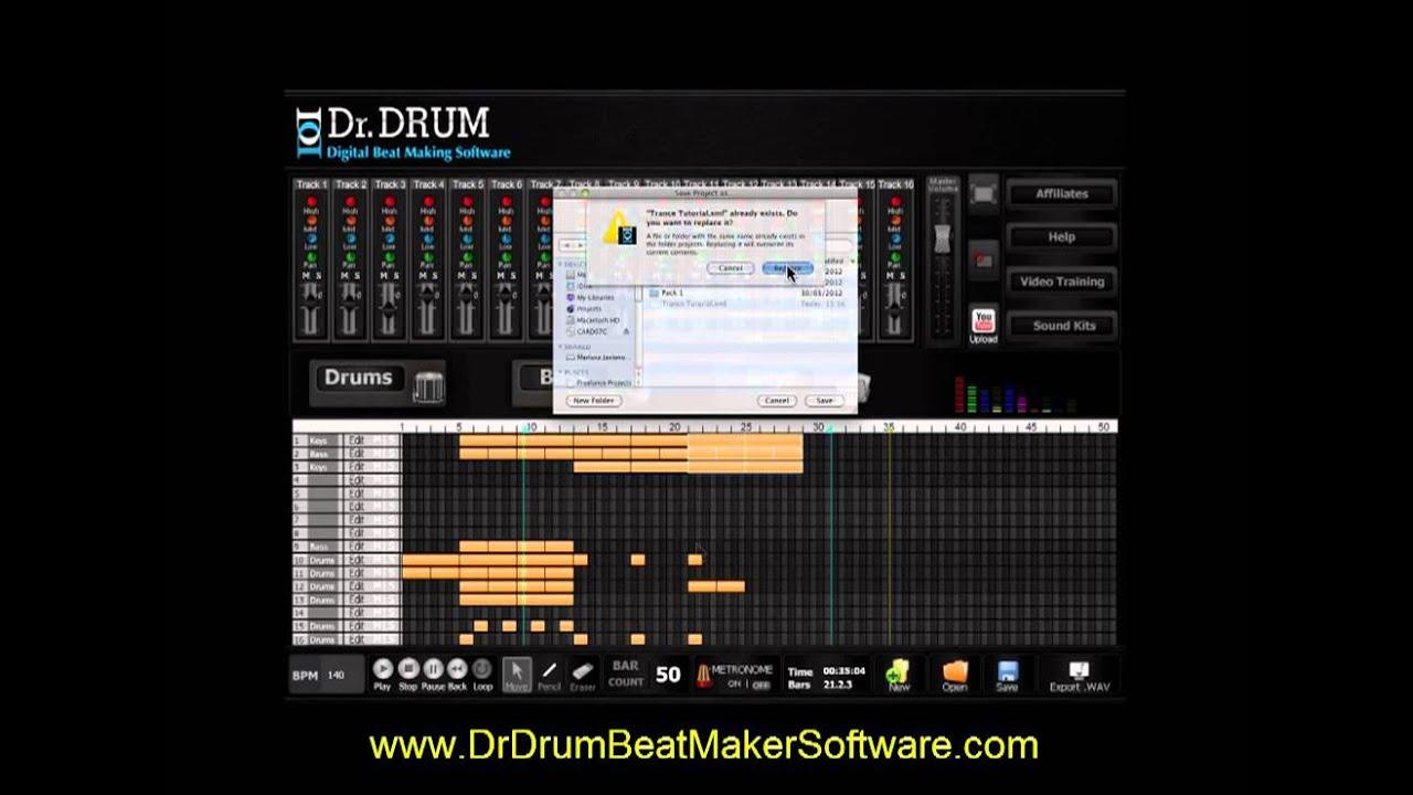 dr drum beat maker software dr drum beat making software full tutorial youtube. Black Bedroom Furniture Sets. Home Design Ideas