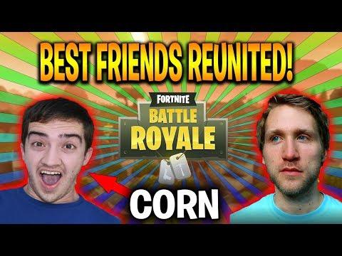 TWO BEST FRIENDS REUNITE ON FORTNITE!