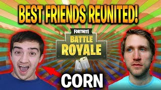 TWO BEST FRIENDS REUNITE ON FORTNITE!