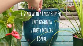 Fourth of July Color Pot Ideas!