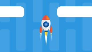 Ввысь-ракета (Dash Rocket) // Геймплей