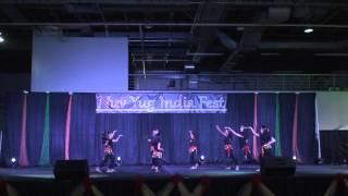2015 Nav Yug India Festival - Charlotte - Nrityam Fusion 2 - Moshalla