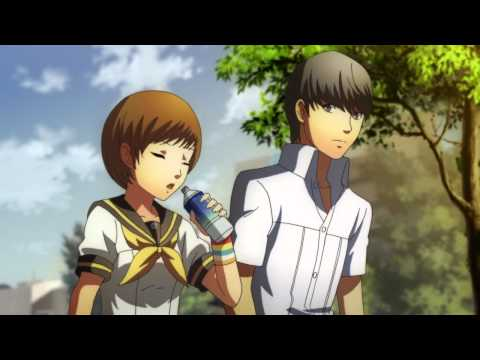 [HD] Persona 4: The Animation - Chie and Yu Share a Moment