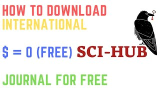Gambar cover HOW TO DOWNLOAD INTERNATIONAL JOURNAL FOR FREE / CARA DOWNLOAD JURNAL INTERNASIONAL GRATIS