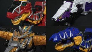 Power Rangers Dino Charge T-rex Megazord Collection Toys 파워레인저 다이노포스 다이노킹 장난감