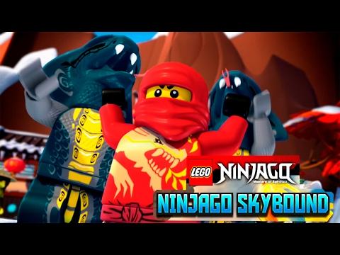 Лего Ниндзяго мультик Игра на русском языке.Тень Ронина Эпизод 19.LEGO Ninjago Game.Episode 19.