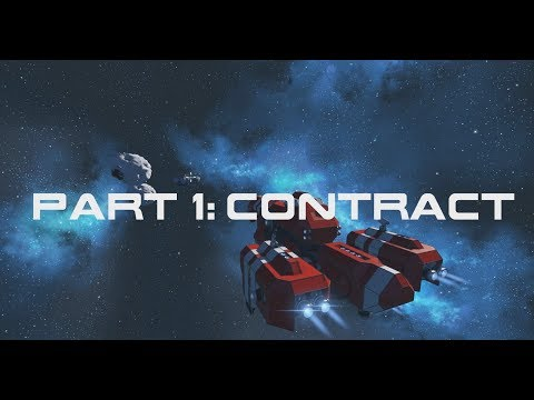 Space Engineers | First Jump Campaign | Mission 1 - Contract