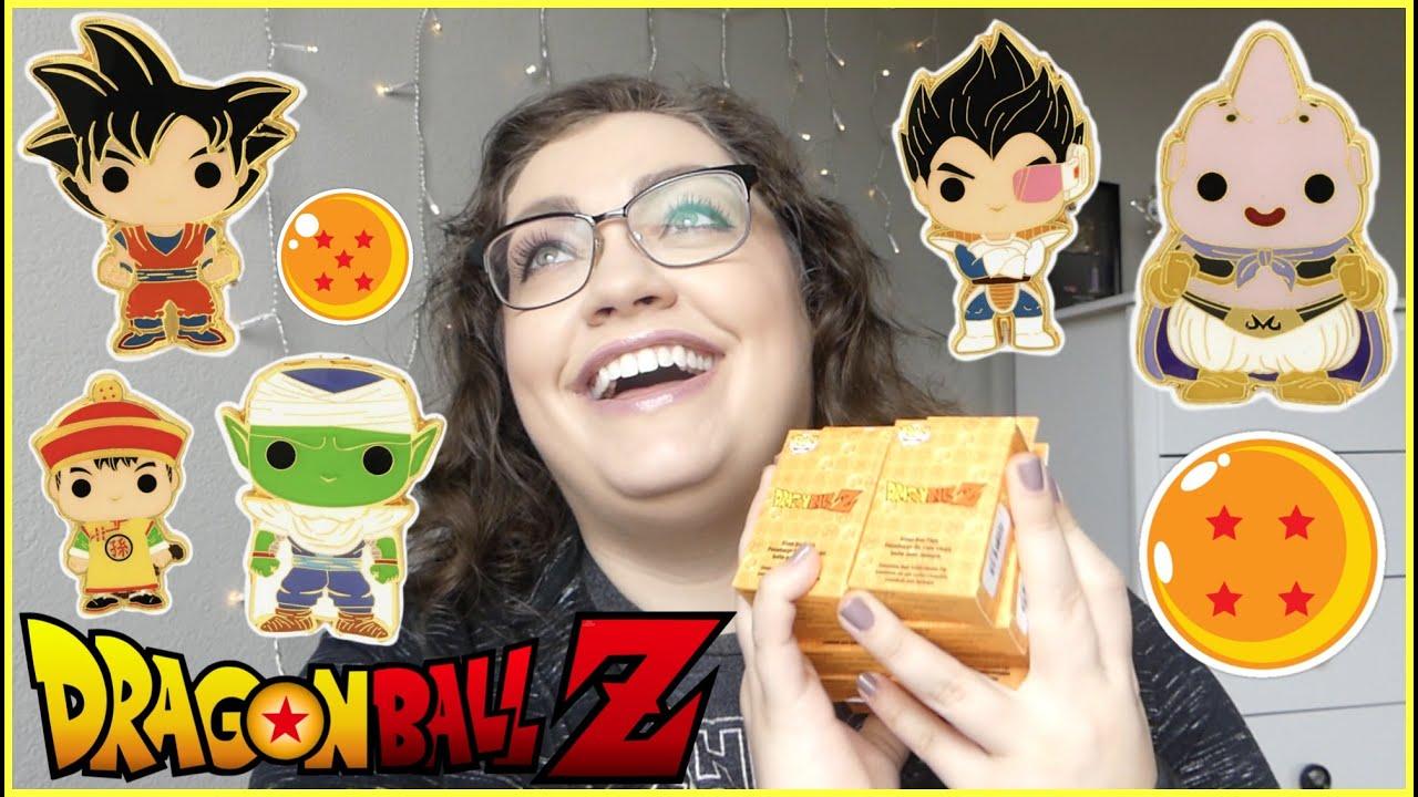 Dragon Ball Z Blind Box Enamel Pin Funko Pop