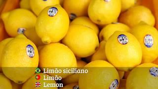 Citrus Fruits in Portuguese | Frutas Cítricas em Português