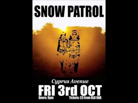 Snow Patrol: Ways And Means; Cyprus Avenue, Cork 03.10.03