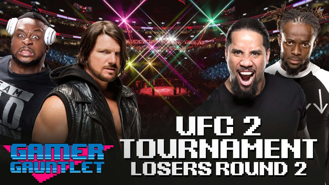 Big E vs. AJ Styles & Jey Uso vs. Kofi Kingston: UFC 2 Tournament Loser's Bracket — Gamer G
