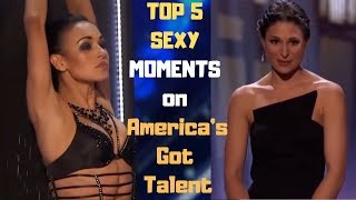 TOP 5 SEXY MOMENTS on America's Got Talent | Top Best Talent