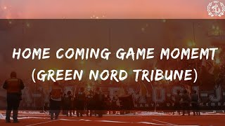 HomeComing Game Moment (Green Nord Tribune)