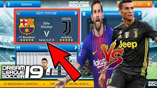 Welcome to the beta test of dream league soccer 2019. this video is about 2019 v6.00 fc barcelona vs juventus gameplay with new english c...