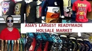 GANDHI NAGAR DELHI  | READYMADE | WHOLESALE MARKET  | Jeans | T shirt | Shirts | Ladies Dupattas |(, 2017-04-03T10:03:12.000Z)